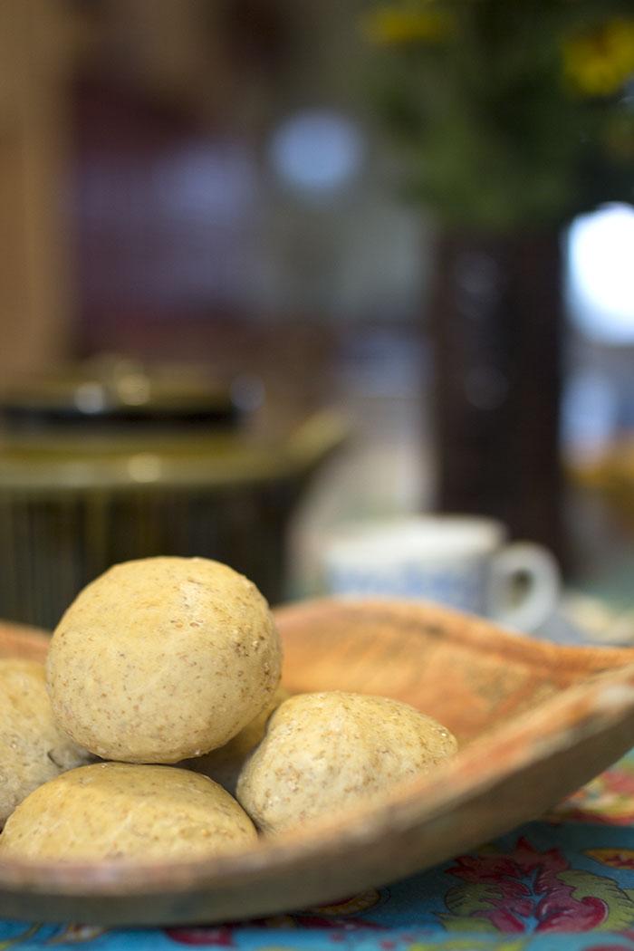 Aamulla leivottavat sämpylät