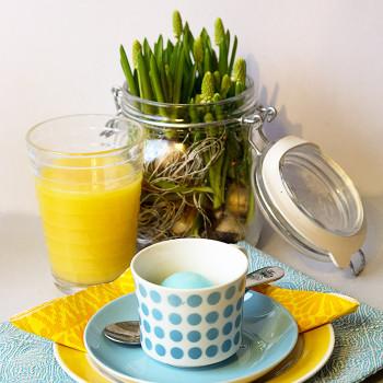 Värikäs aamupala