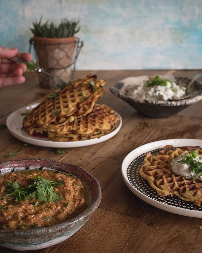 Perunavohvelit | vohvelit | resepti | ruokablogi | peruna | perunamuusi