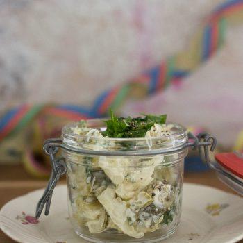 Peruna-kukkakaalisalaatti