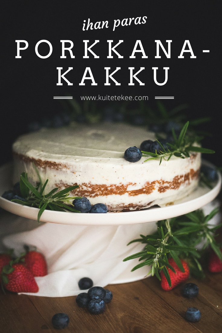 porkkanakakku | leivonta | resepti | kakku | ruokablogi