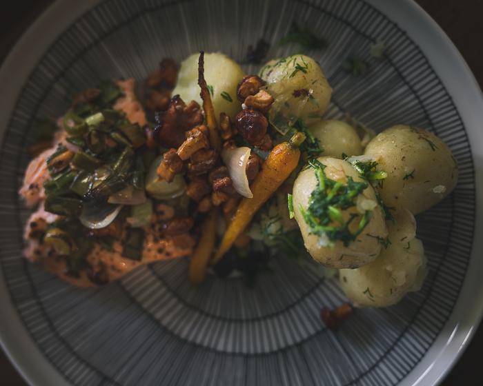 kalaa ja perunaa | satokausi | omasta maasta | puutarha | kesäkeittiö