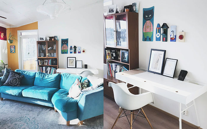 Olohuoneen Top -5 | olohuone | sisustus | värikäskoti