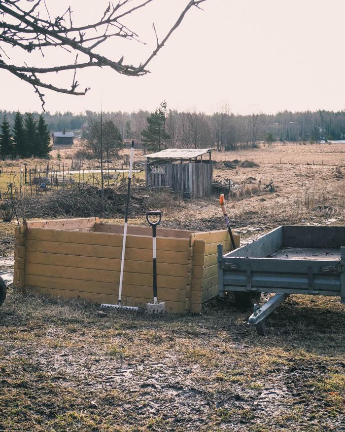 Puutarhan kevättyöt   puutarha   keittiöpuutarha   pihanhoito