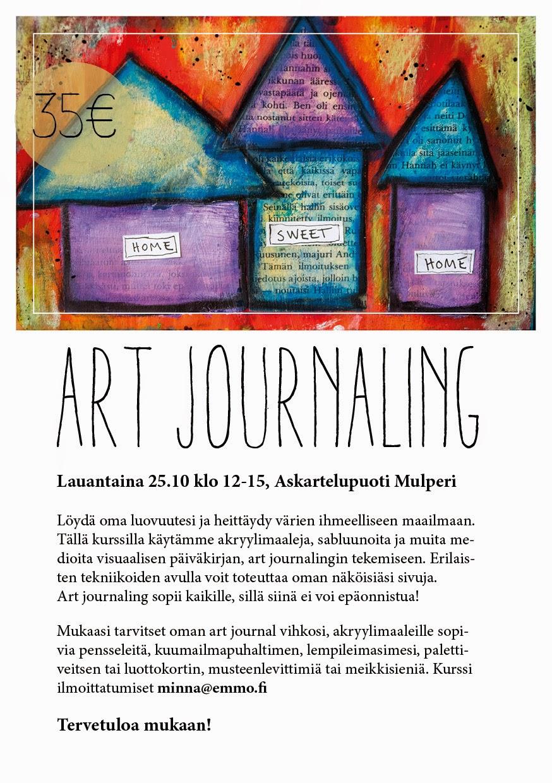 Tervetuloa mukaan Art Journal kurssille!