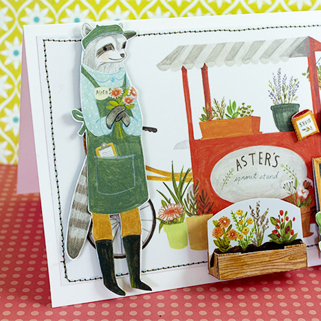 Keväinen kortti puutarhaihmiselle