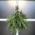 DIY joulukalenteri – Luukku 1: Havukoriste oveen