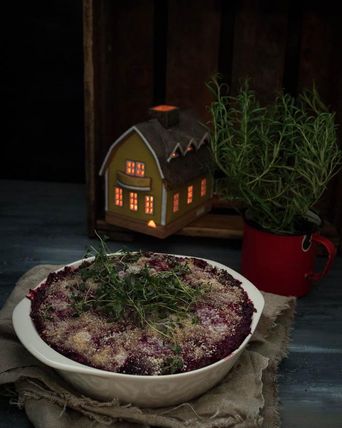 DIY joulukalenteri – Luukku 12: Jouluinen punajuuri -aurajuustolaatikko