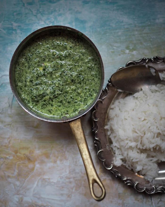 Palak Paneer – Intilainen kasvisruoka